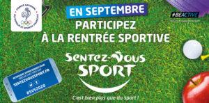 En septembre : labellisez votre évènement «Sentez-Vous Sport»