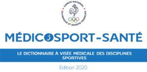 Le CNOSF dévoile l'édition 2020 du Médicosport-santé