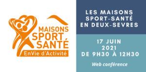 """Matinée """"Maisons Sport Santé"""" des Deux-Sèvres en visio"""